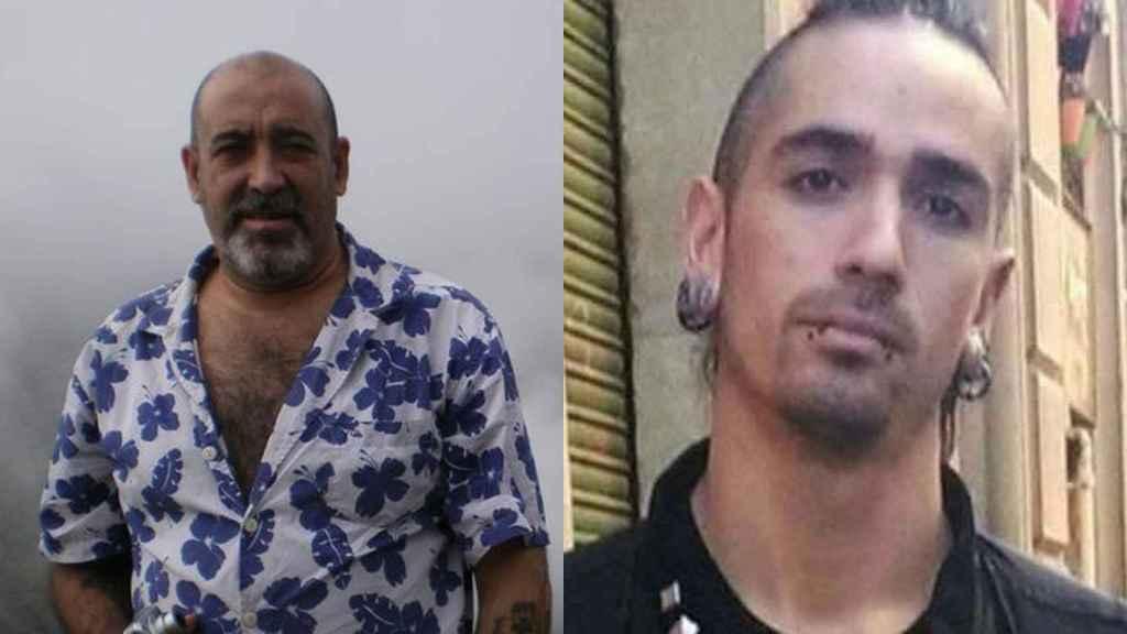 Víctor Laínez -izquierda- y Rodrigo Lanza -situado a la derecha- protagonizaron una pelea en un bar de Zaragoza.