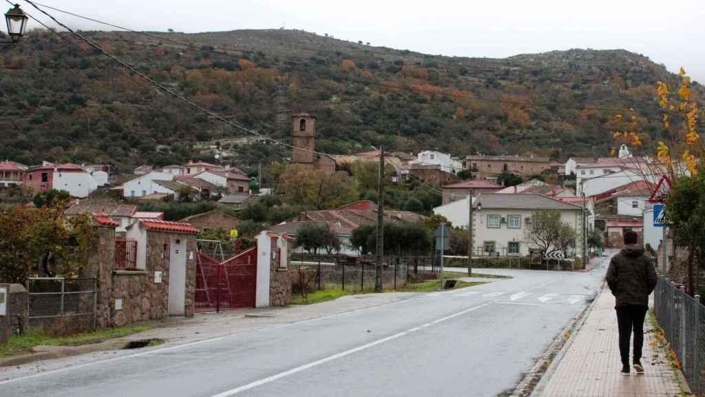 Vista general de Villar de Plasencia (Cáceres)