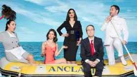 'Anclados' arrasa en su estreno multicanal con un 27,3%  y 5,1 millones