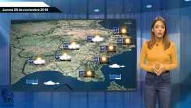 El tiempo: pronóstico para el jueves 28 de noviembre