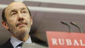 Alfredo Pérez Rubalcaba, exvicepresidente del Gobierno e histórico dirigente del PSOE.