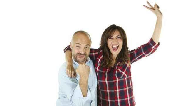Javi Nieves y Mar Amate, presentadores de Buenos días Javi y Mar de Cadena 100.