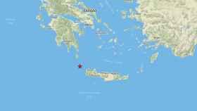 Un terremoto de magnitud 6 sacude la isla griega de Creta