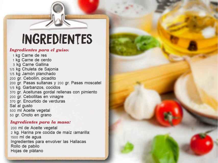ingredientes fabiola