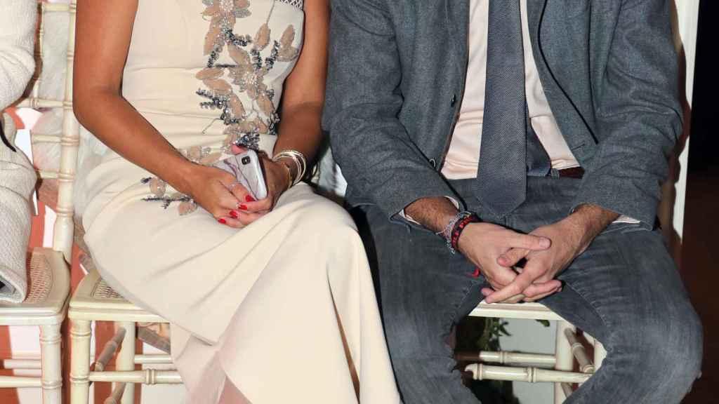 Elena Tablada y su marido Javier Ungría se han convertido en padres de su primer hijo en común.