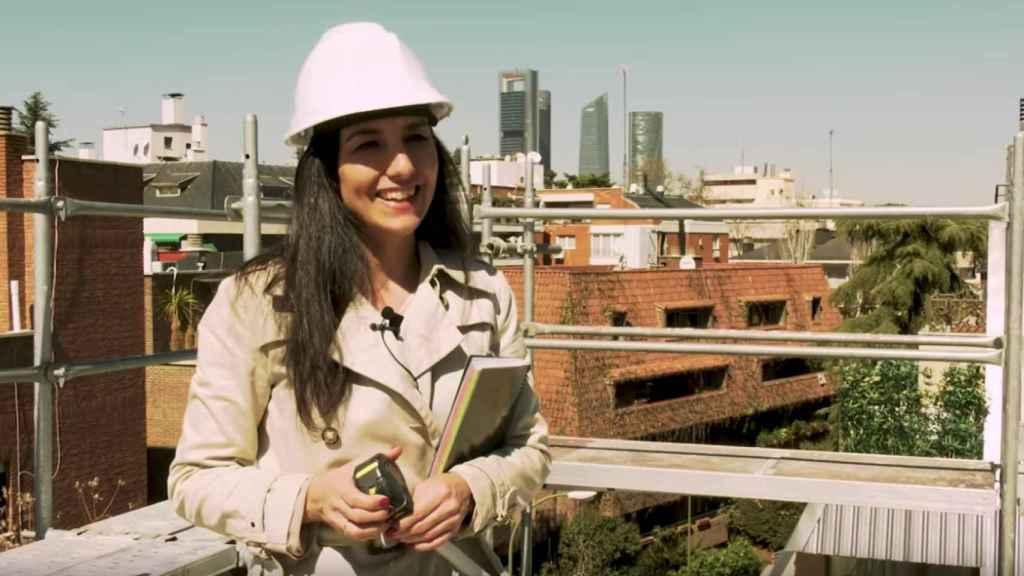 La portavoz de Vox en la Asamblea de Madrid, Rocío Monasterio, en una imagen de un vídeo de Vox.
