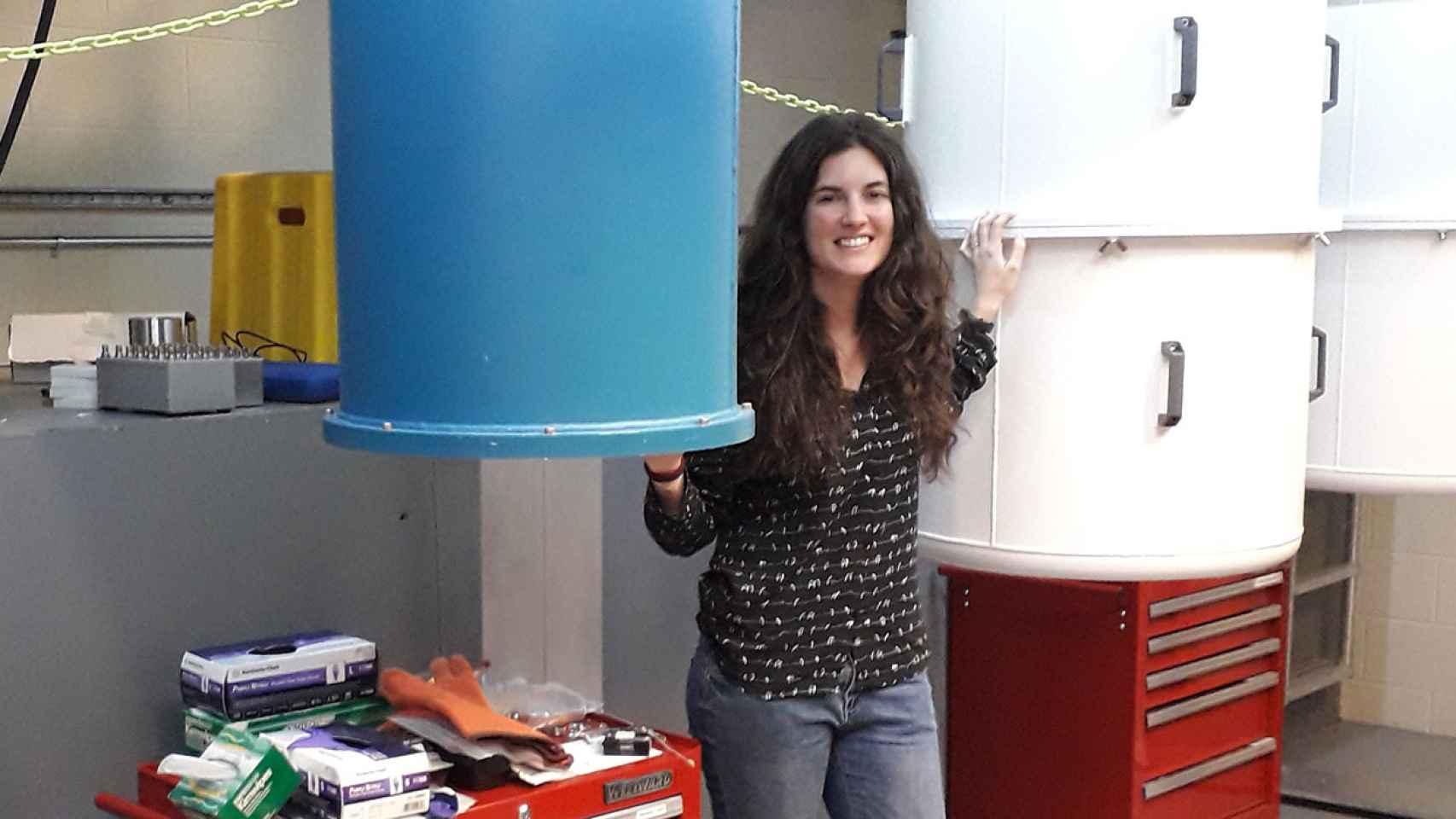 La física e investigadora española Alba Cervera.