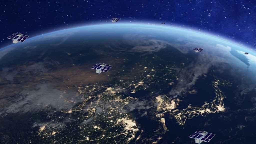 Constelación de satélites