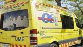Servicio de Emergencias en la Ciudad de Murcia.
