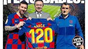 La portada del diario Mundo Deportivo (29/11/2019)