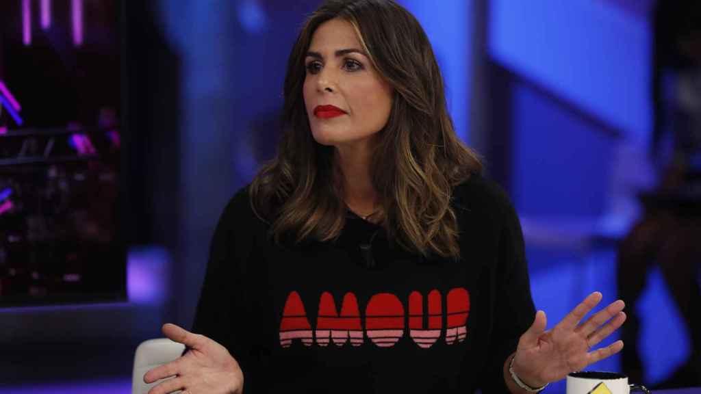 Nuria Roca en 'El Hormiguero'.