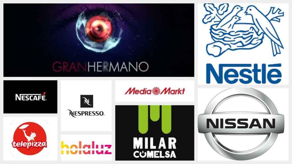Algunas de las marcas que se han retirado del programa.
