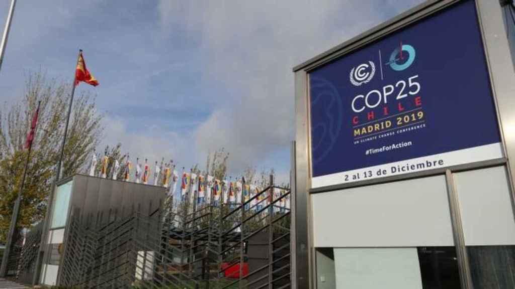 Aspecto que presenta el recinto Ferial de Ifema, que albergará la cumbre mundial del clima.