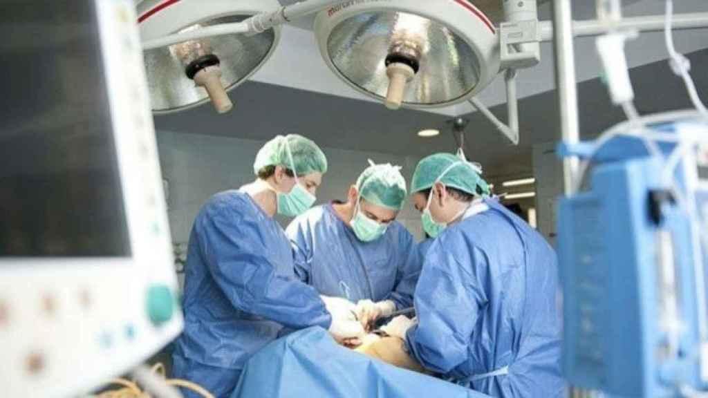 Foto de un quirófano.