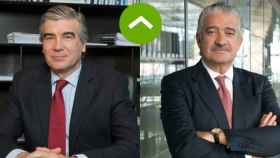 COMO LEONES: Francisco Reynés (Naturgy) y José Bogas (Endesa)