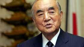 Yasuhiro Nakasone, exprimer ministro de Japón.