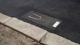 Puntos de carga de coches eléctricos retráctiles para evitar el vandalismo