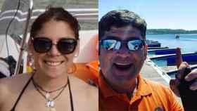 Elizabeth Pimentel y Eduardo Estela.