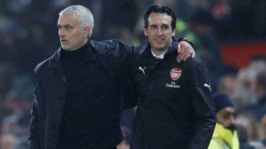 Mourinho y Emery