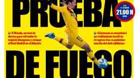 La portada del diario Mundo Deportivo (01/12/2019)