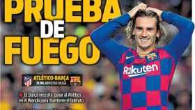 La portada del diario Sport (01/12/2019)