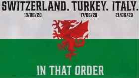 La mofa de la cuenta de Twitter de la selección de Gales con la fase de grupos de la Eurocopa 2020