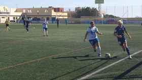 Granadilla Tenerife y Tacón jugando en el Francisco Suárez