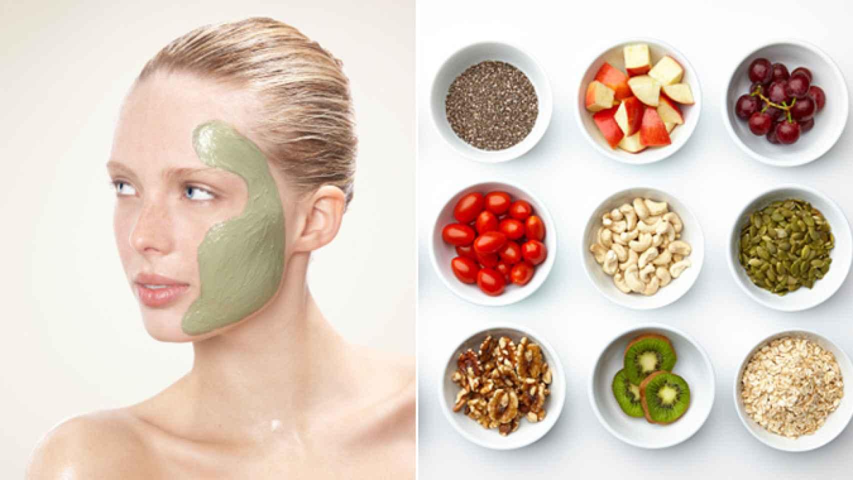 Los superalimentos se cuelan en las mascarillas para cuidar todas las necesidades de tu piel.