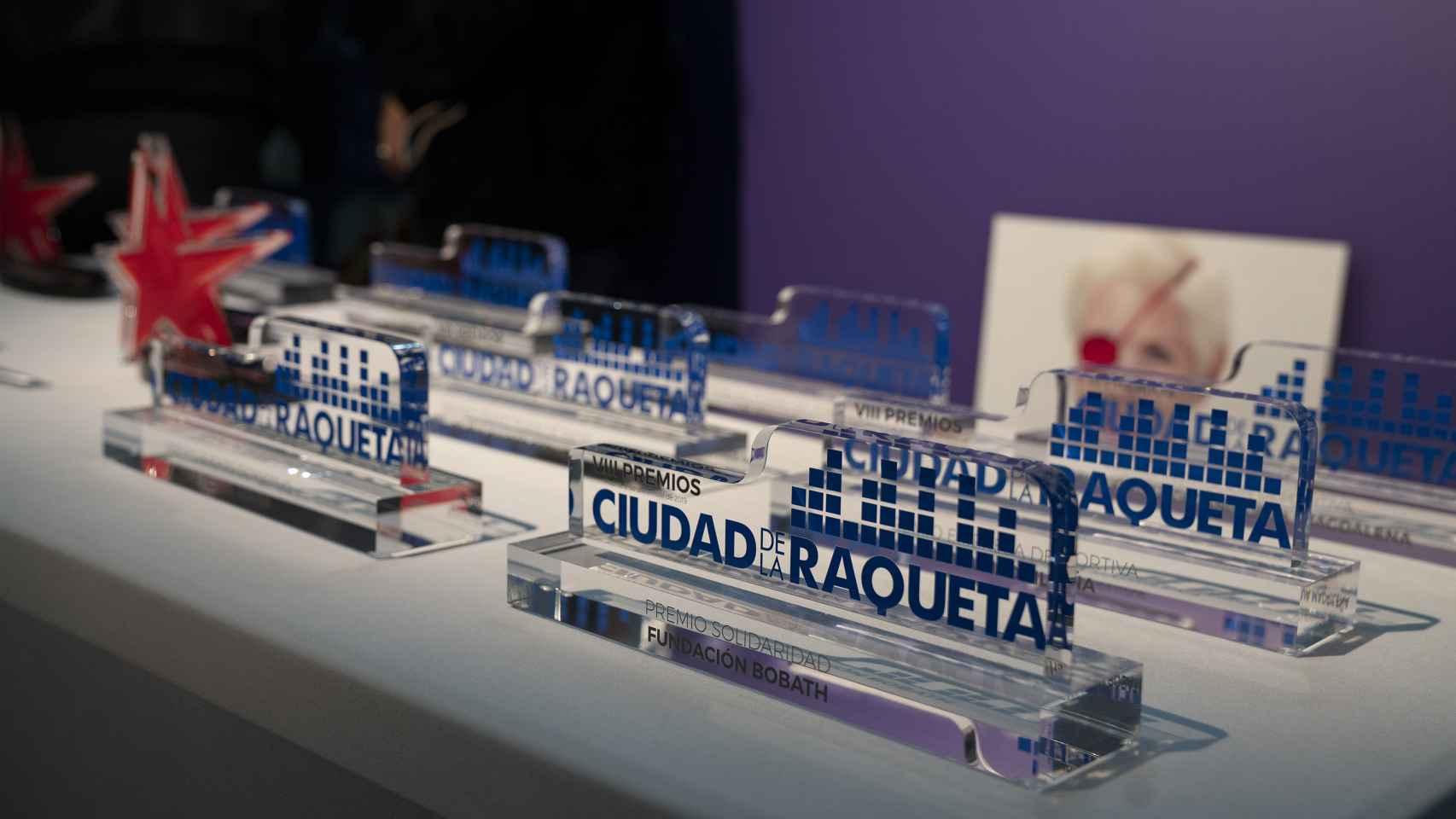 Las mejores imágenes de los Premios Ciudad de la Raqueta y María de Villota