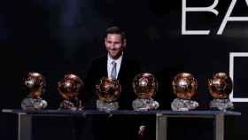 Lionel Messi, Balón de Oro 2019