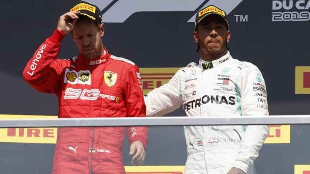 Vettel y Hamilton