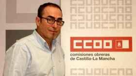 Paco de la Rosa, líder de CCOO en Castilla-La Mancha