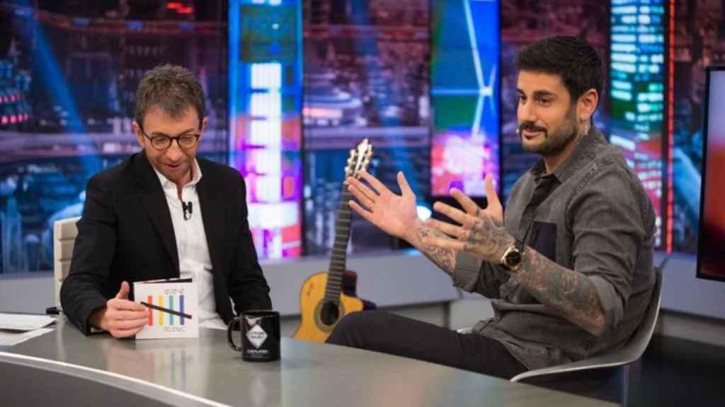 Melendi visitó 'El Hormiguero' para presentar su nuevo disco.