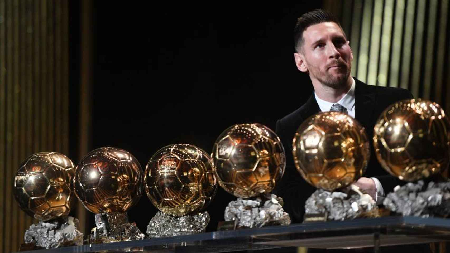 Leo Messiy sus seis Balones de Oro