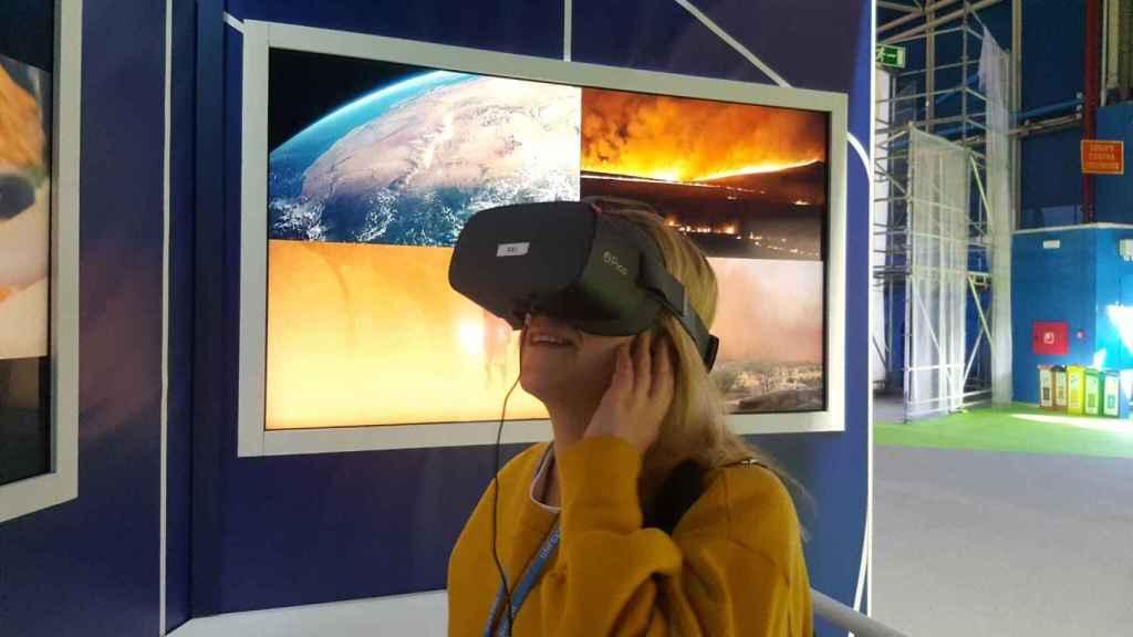 Una ciudad catastrófica a causa del clima a través de realidad virtual.
