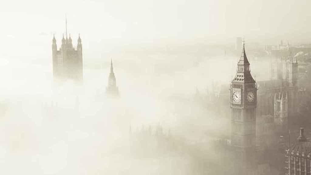 La niebla se desarrolló durante unos cinco días y cubrió un radio de 32 kilómetros.