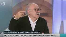 Josep Lluís Carod-Rovira en TV3.