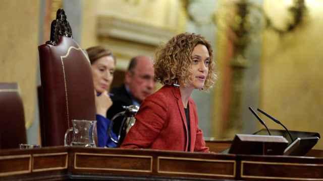 La presidenta del Congreso, Meritxell Batet, en una imagen de archivo.