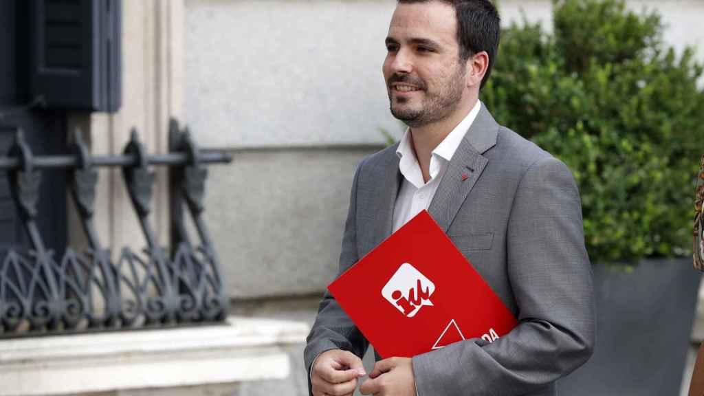 El líder de IU y diputado de Unidas Podemos, Alberto Garzón, en una imagen de archivo.