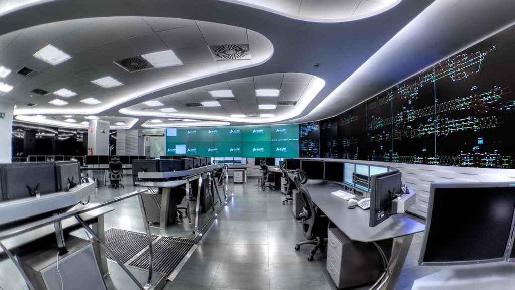 Centro de Control AVE Atocha.