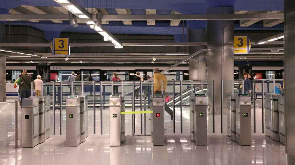 Ticketing Metro de Madrid.