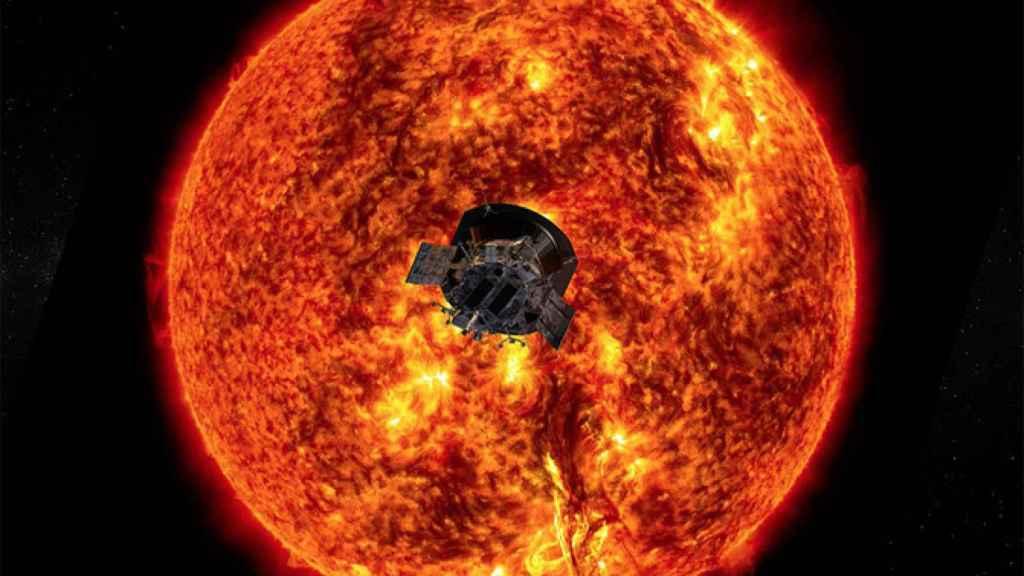 La misión Parker Solar Probe es la que ha viajado más cerca del Sol. / NASA / Johns Hopkins APL