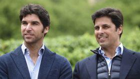 Francisco Rivera y Cayetano en una imagen de archivo.