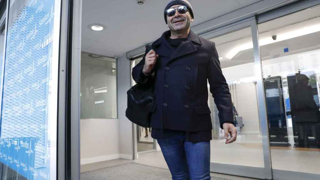 Jorge Javier Vázquez ha recibido el alta hospitalaria.