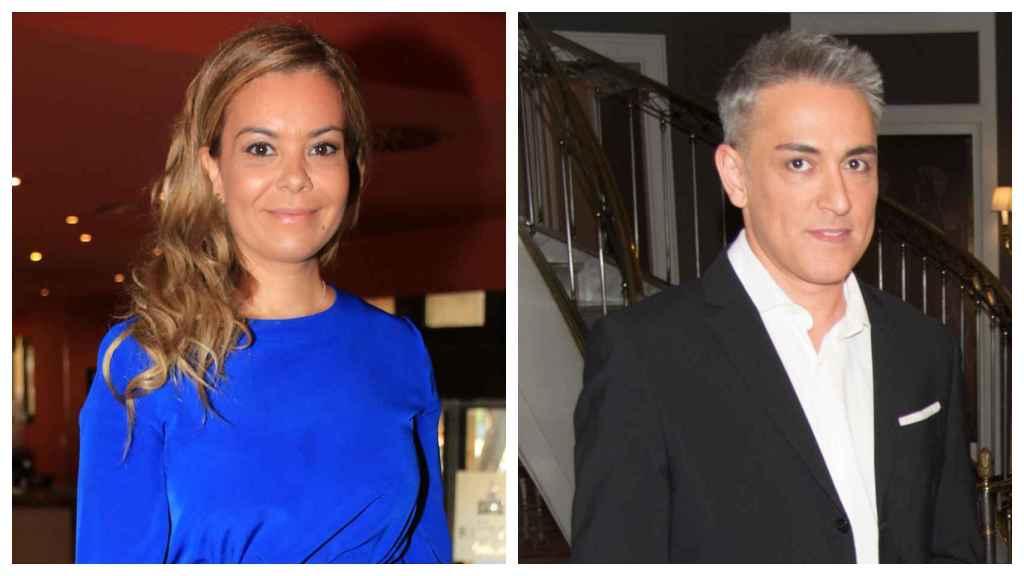 María José Campanario y Kiko Hernández en un montaje de JALEOS.