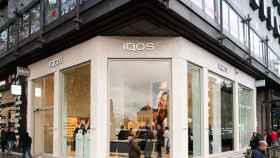 La tienda Iqos de Philip Morris en la calle Serrano de Madrid.