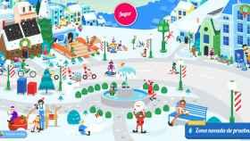 Google te permite seguir a Papá Noel y jugar durante todo el mes