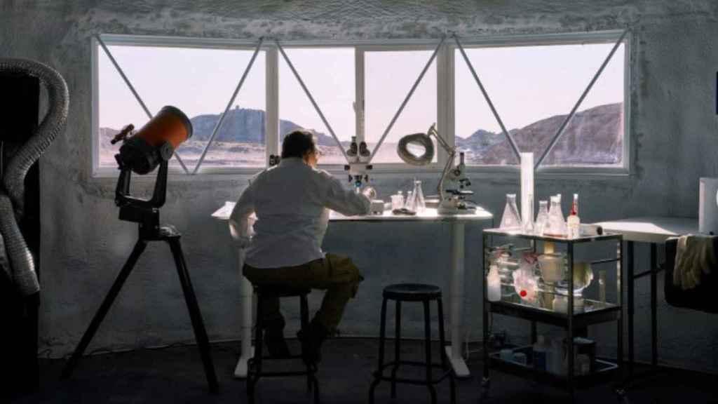 Oficina en Marte