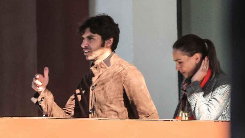 Cayetano y Eva González en una de sus últimas salidas antes del escándalo.