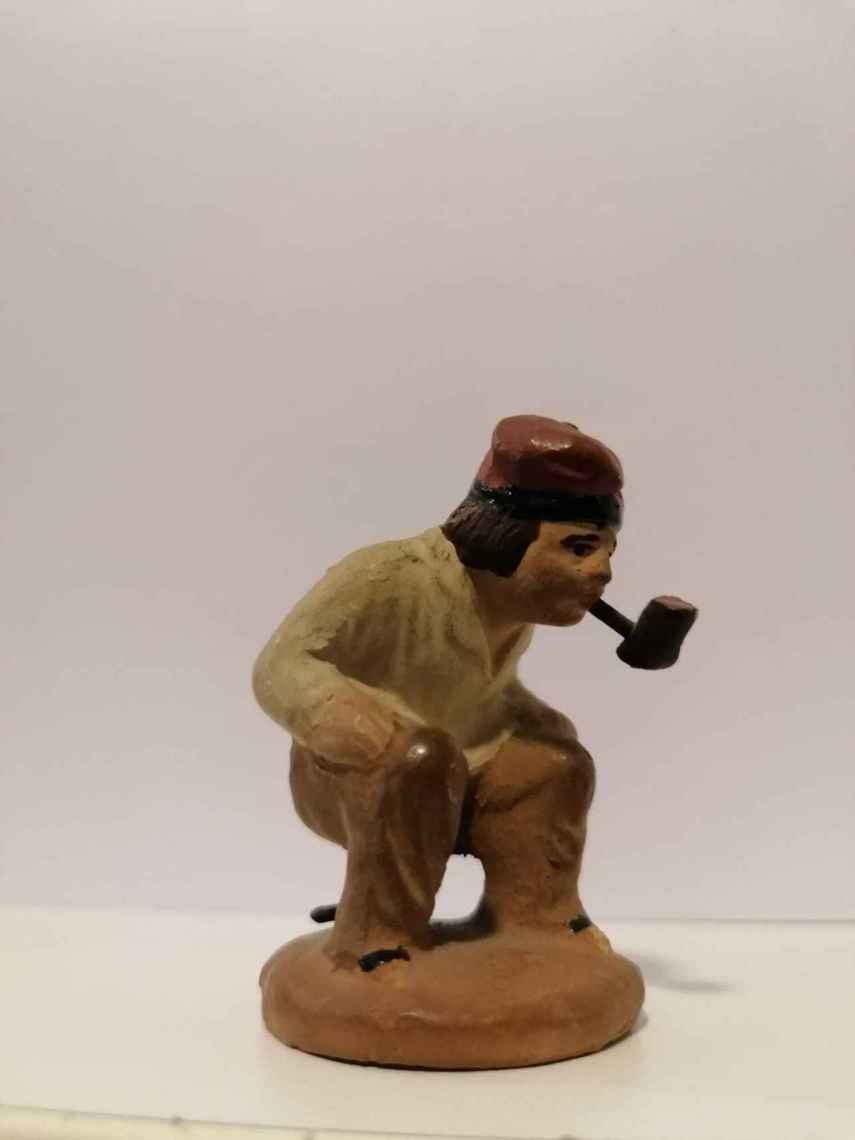 La primera figura de la colección, adquirida en 1970.